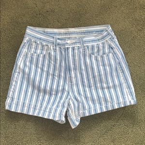 American Eagle Striped Shorts